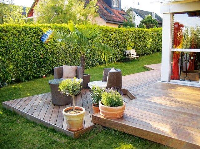 plantas terraza sillones macetas plataforma