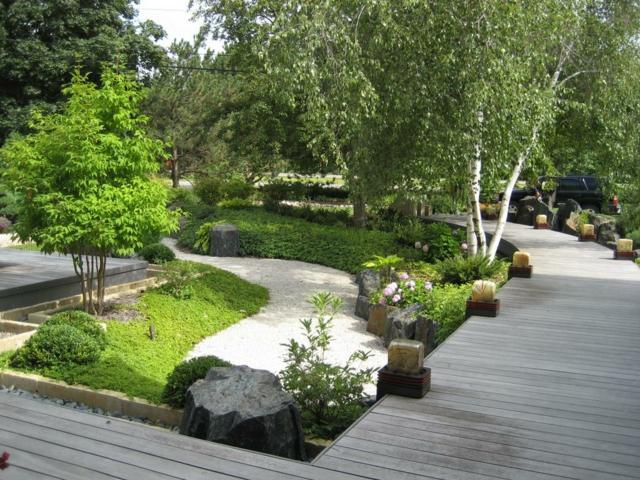 plataforma japonés ideas plantas macetas