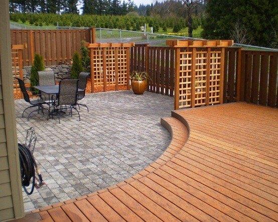 Plataforma En El Jardín Nuevas Ideas Para El Relax