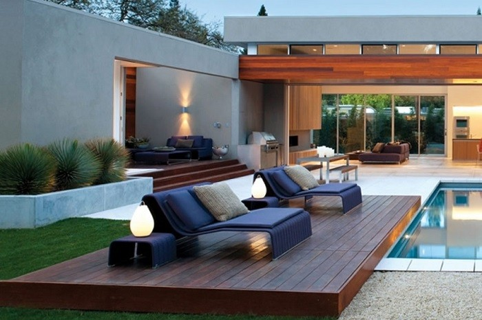 Piscina para terraza piscinas para perros with piscina for Muebles hinchables