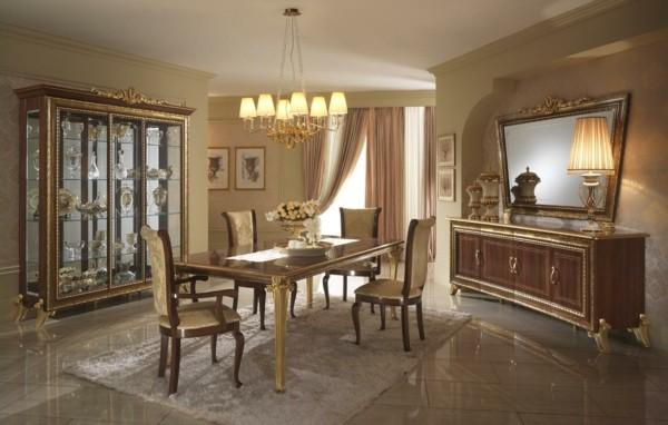salón lujoso suelo mármol