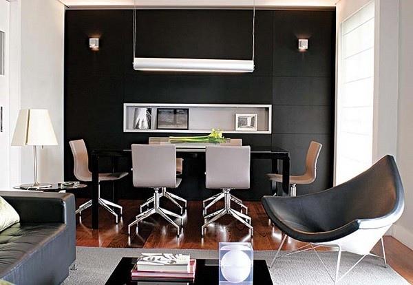 salón muebles piel modernos minimalistas