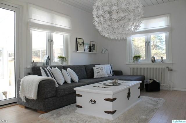 Sal n moderno tendencias originales para 2015 - Salones con sofa negro ...