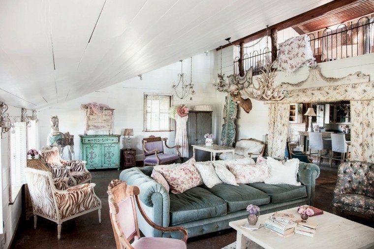 Dise o shabby chic para espacios interiores for Decoracion de espacios de interiores