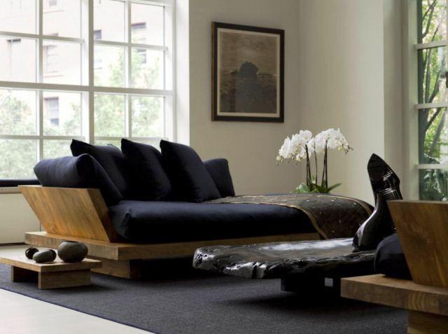 salon estilo zen bonito minimalista moderno