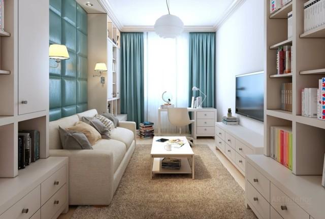 Sal n moderno tendencias originales para 2015 for Decoracion salon beige y blanco