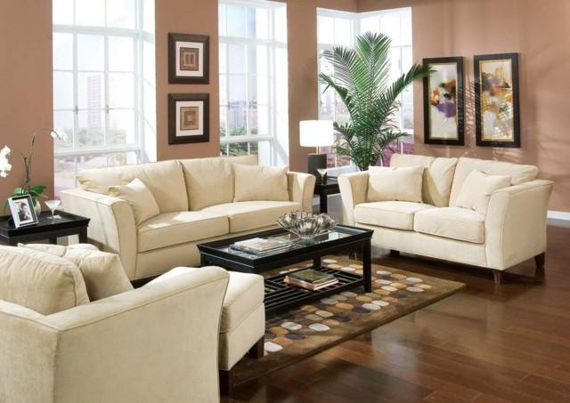 salon luminoso muebles diseño comodo blanco alfombra diseño puntos