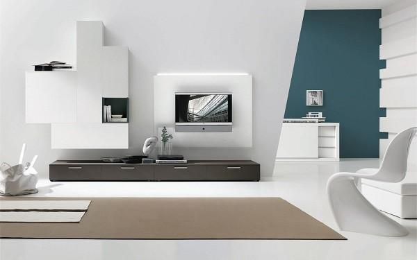 salon minimalista blanco mucha luz