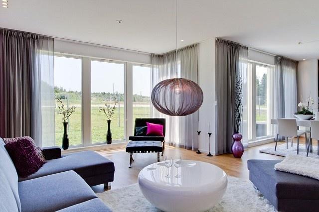 salon moderno luminoso idea perfecto diseo mesa bonito