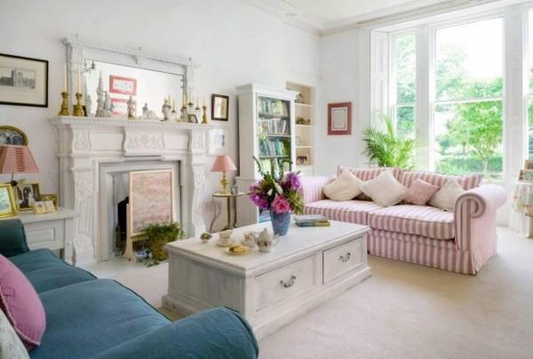 Diseño Shabby chic para espacios interiores