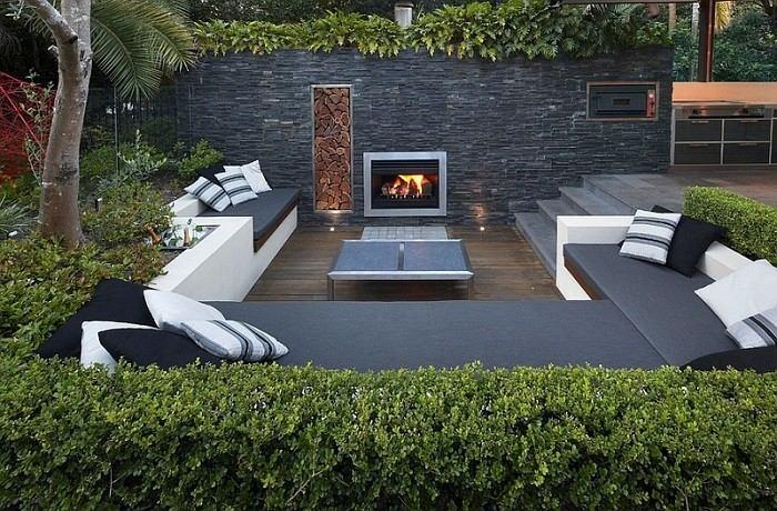 salones modernos terrazas mobiliario moderno cojines exterior