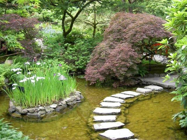 senderos caminos piedra agua lago