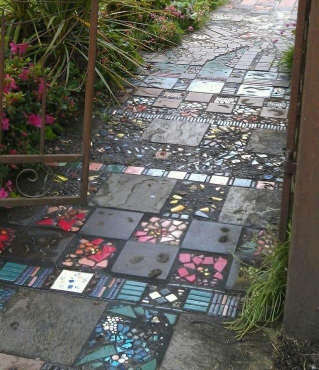 Senderos de piedra para jardines naturales for West materials things