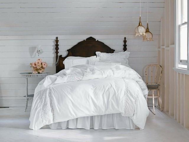 Shabby chic ideas rom ticas para tu dormitorio - Lamparas estilo shabby chic ...