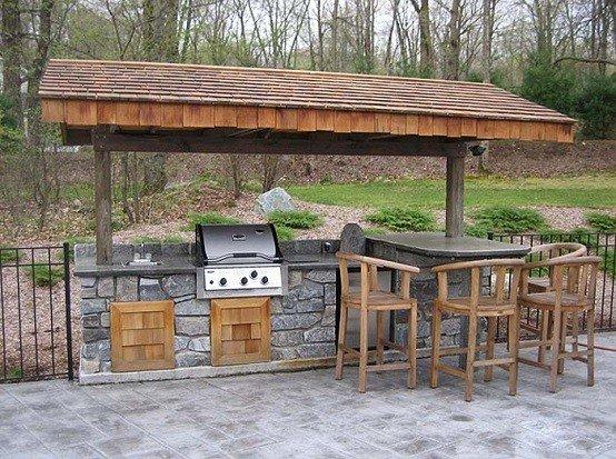 Cocinas de dise o veraniego sabores y estilos al aire libre for Cocinas rusticas para exteriores