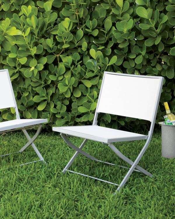 sillas moderno jardin plantas plegables