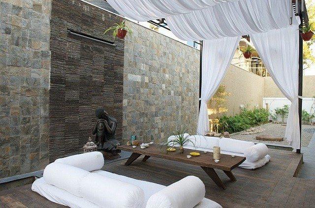 terraza moderno inspiracion combinado tropical