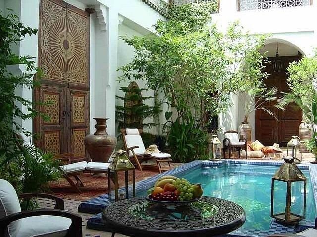 terrazas maroqui idea perfecta piscina precioso