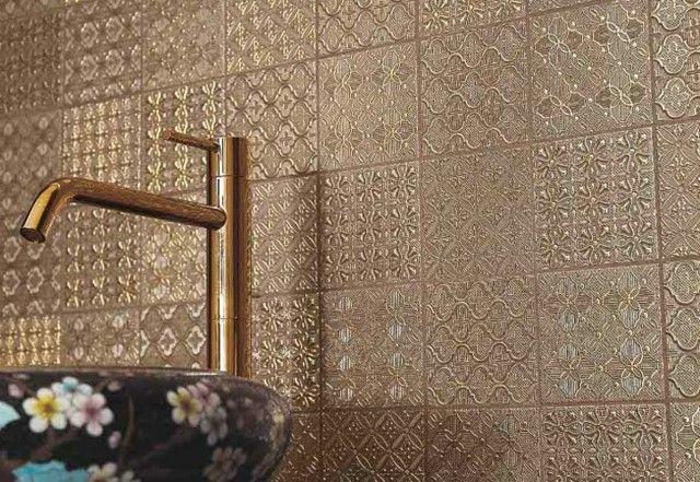 textura dorado baratos baños modernos