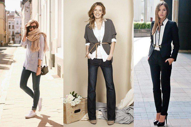 tres ideas para estilo chic casual elegir moda