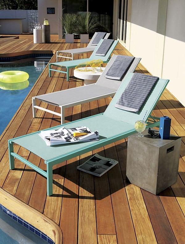tumbona piscina muebles decoracion exteriores