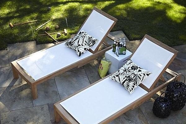 tumbona silla madera mobiliario cojines