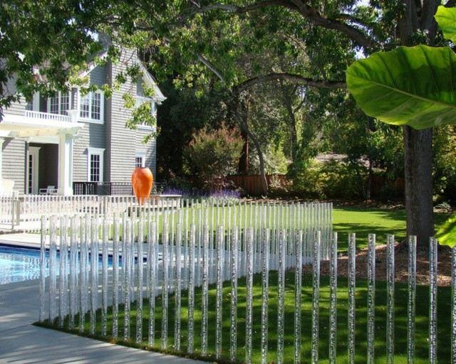 Vallas y cercas con estilo para tu jard n - Cercas para jardin ...