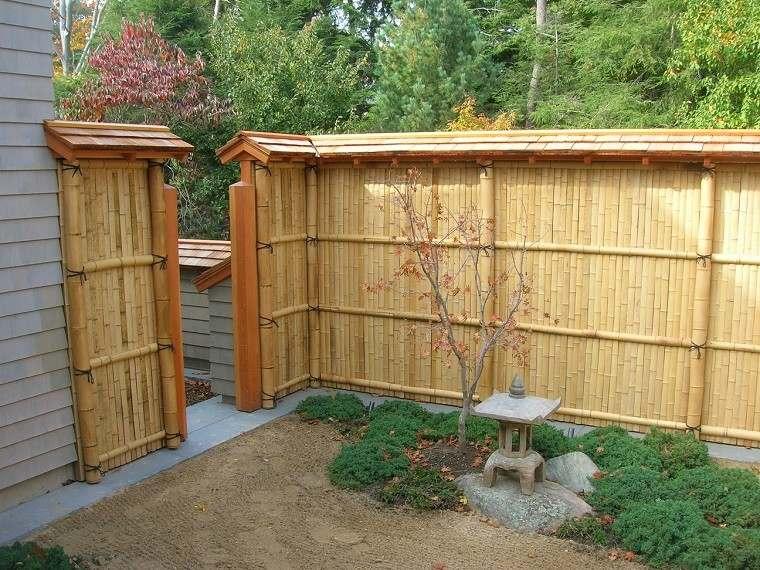 Vallas de madera con bamb la soluci n inteligente for Balancines de madera para jardin