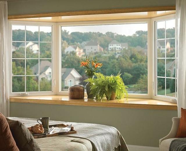 ventanas dormitorio cristal PVC blancas