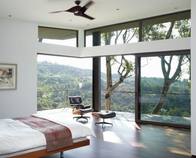ventanas toda pared vista impresionante