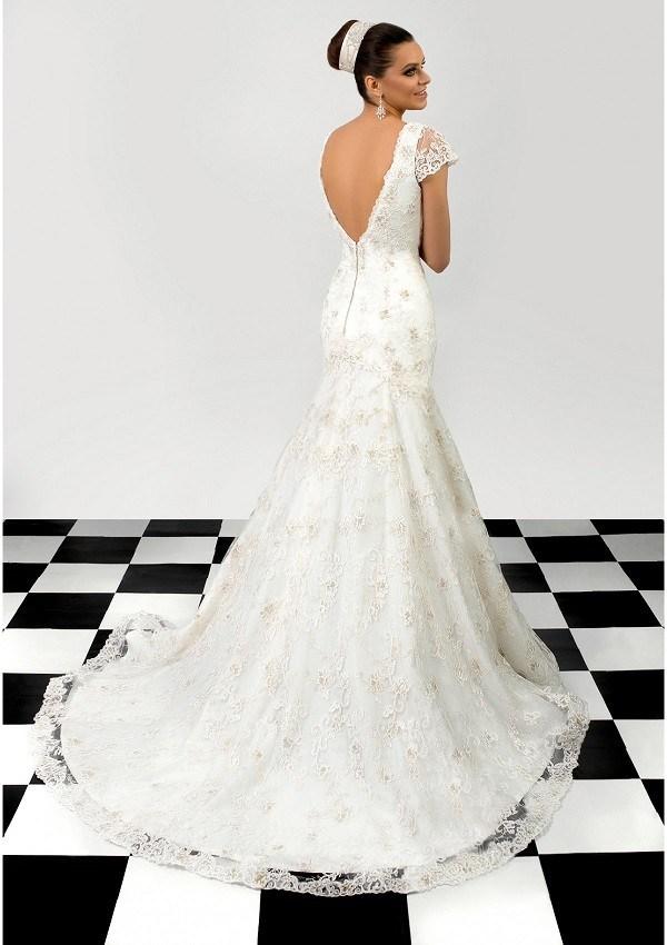 vestido boda elegante reina hecho mano Andreea
