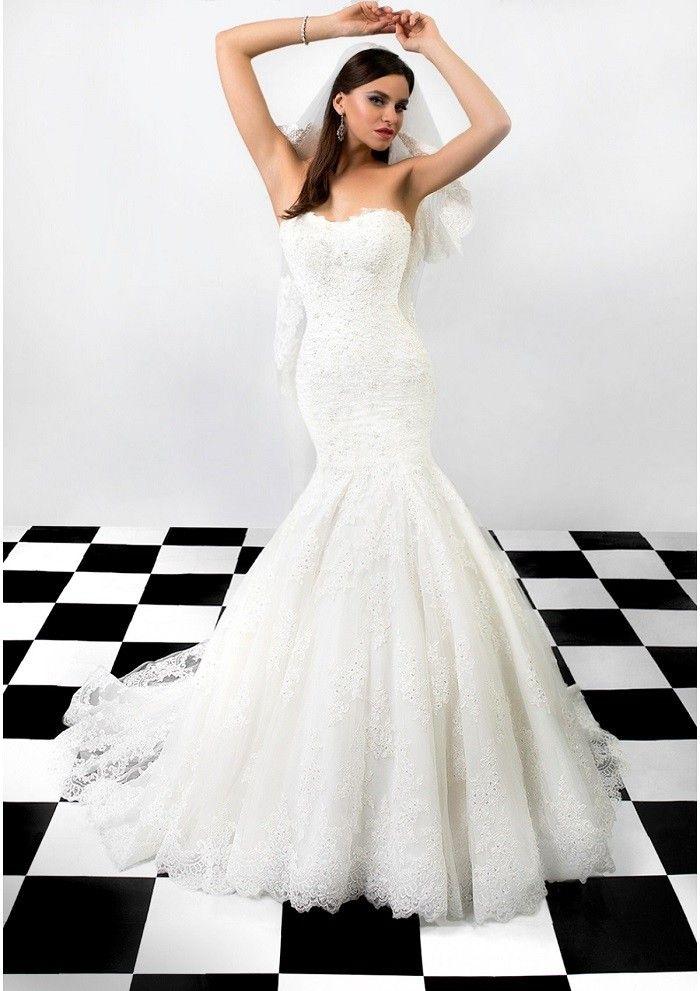 vestido de novia diseño precioso blanca Susan
