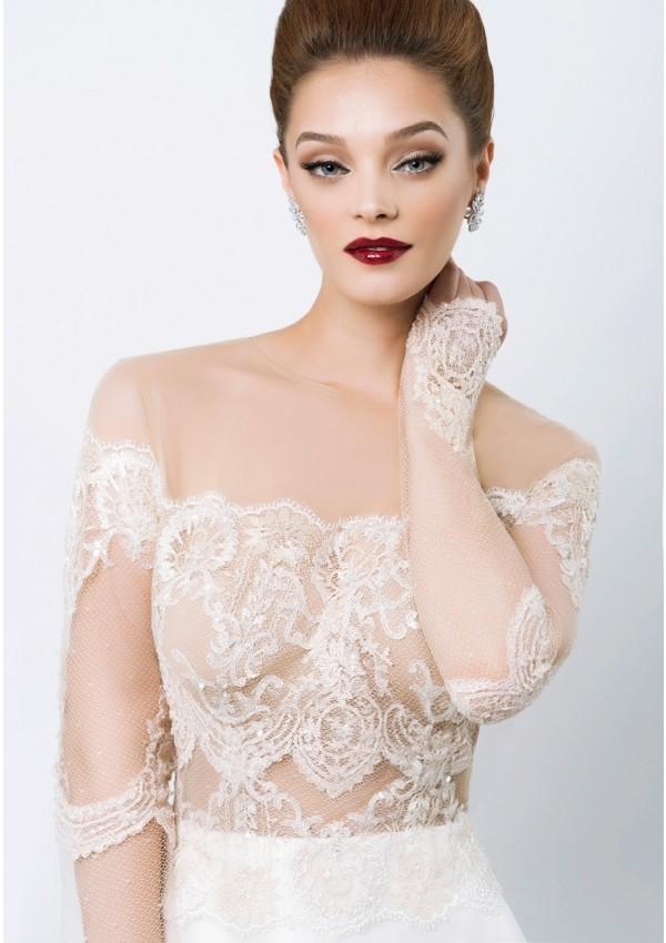vestido de novia diseño unico sirena Lucia