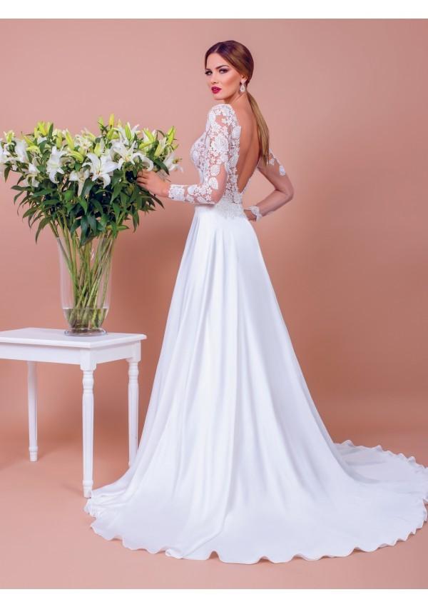 vestido de novia increible eleccion silueta harmoniosa Sienna precioso