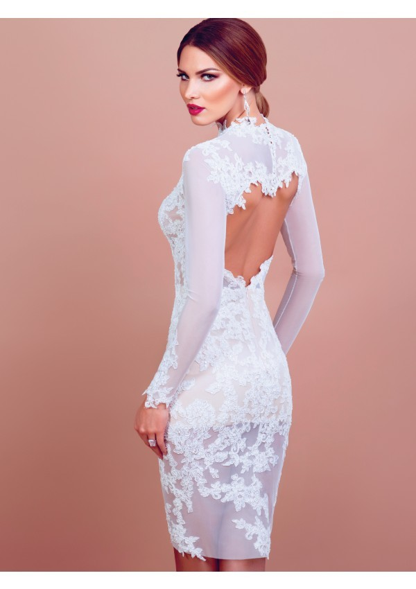 Beautiful Vestidos De Novia Por El Civil Festooning - Wedding Dress ...