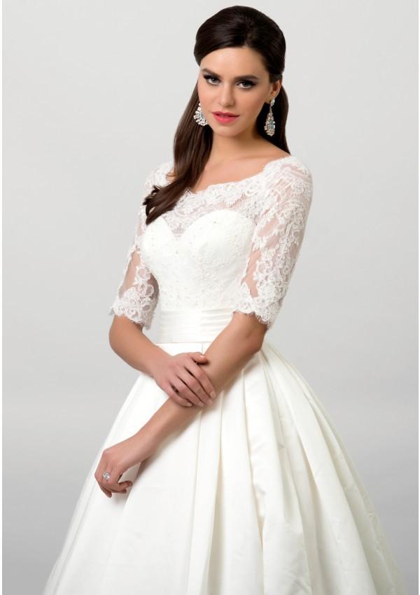 vestidos de novia  elegante delicado precioso Augusta