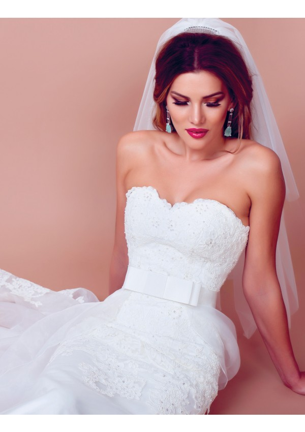 vestidos de novia perfecto mujer sofisticada diseño Angelica