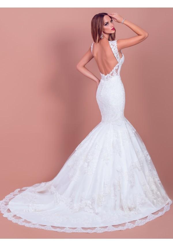 vestidos de novia precioso romantico novia delicado Alexa