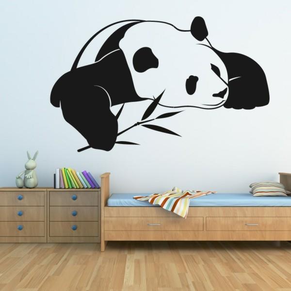 vinilos infantiles animales panda recortado