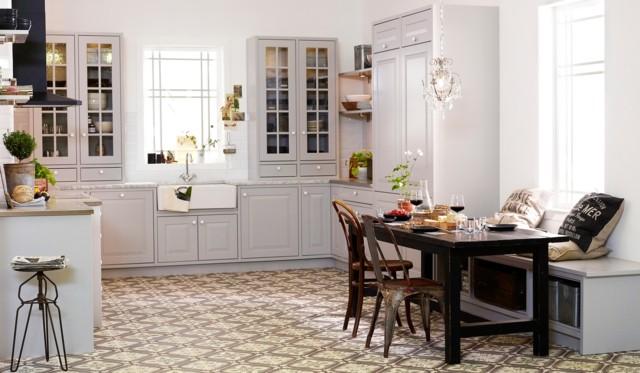 Vintage estilo retro cl sico en la cocina - Decoracion vintage cocina ...