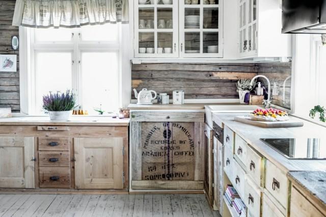 Vintage estilo retro cl sico en la cocina - Muebles de cocina estilo retro ...
