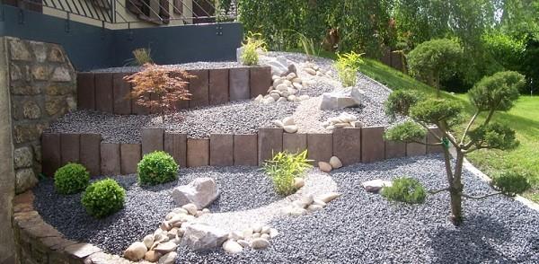 Jardiner a en pendientes trucos para un jard n de lujo - Idee deco jardin en pente ...