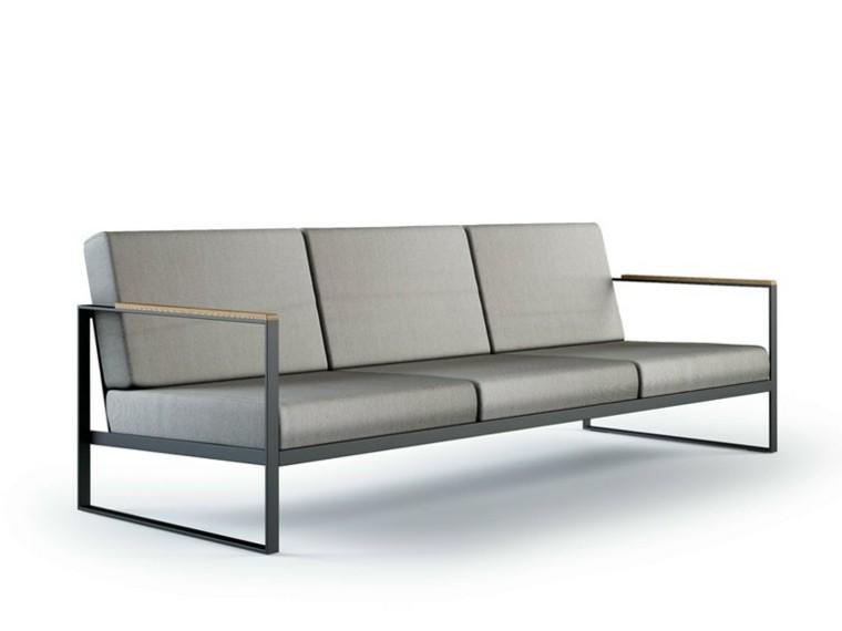 Roshults moderno sofa gris minimalista
