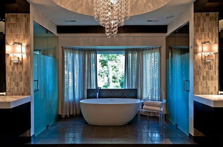 accesorios baño elegante ideas modernas banera idea