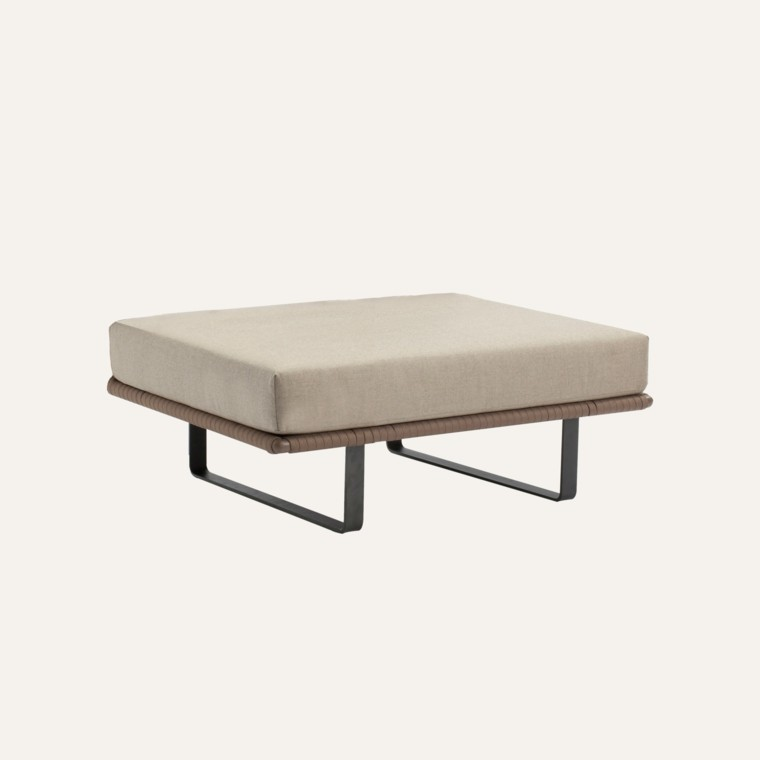 acolchonado aluminio mueble descanso aluminio
