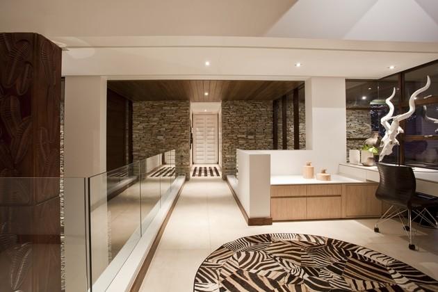 alfombra zebras estilo moderno cristal