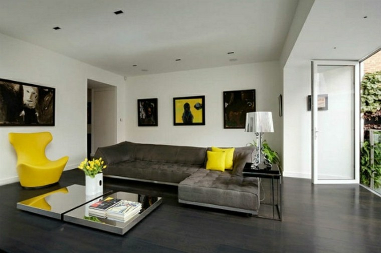 amarillo silla muebles flores puerta