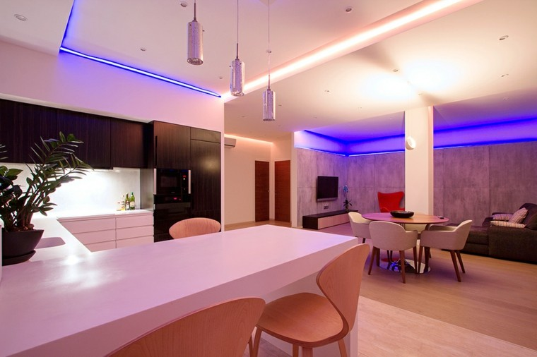 Iluminacin led 75 ideas increbles para el hogar