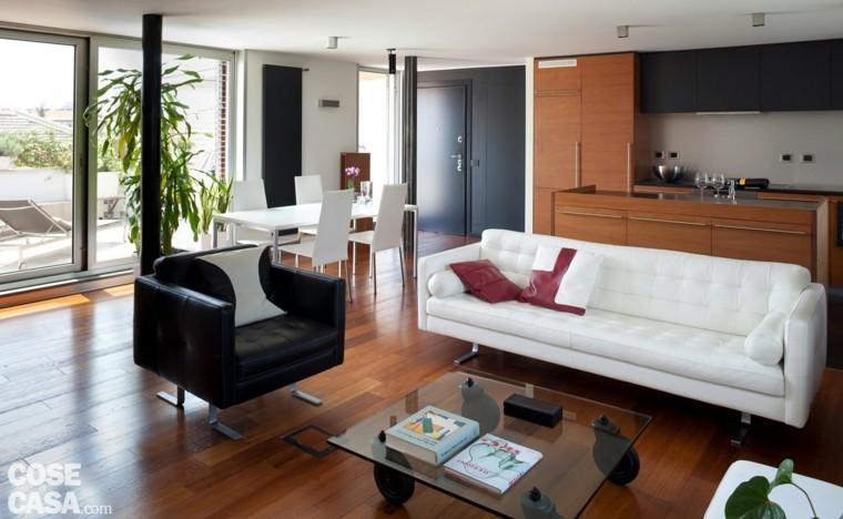 apartamento soltero suelo parquet madera