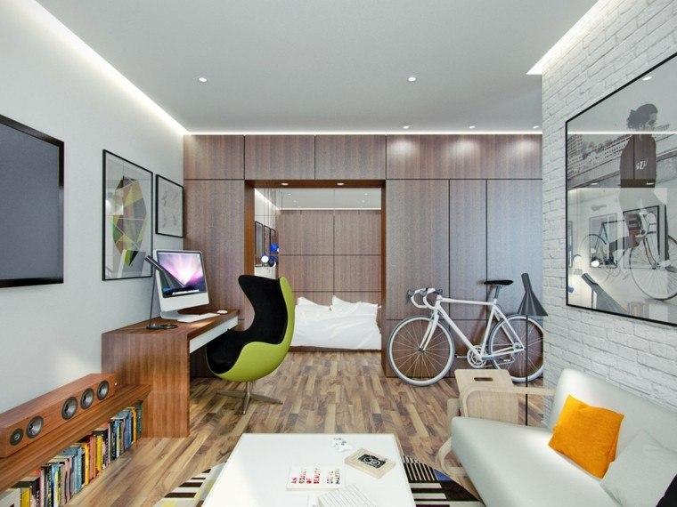 Apartamentos peque os 2 ideas inspiradoras de dise o interior - Apartamentos pequenos disenos ...